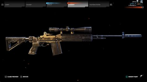 Ghost Recon War Hammer Sniper Rifle