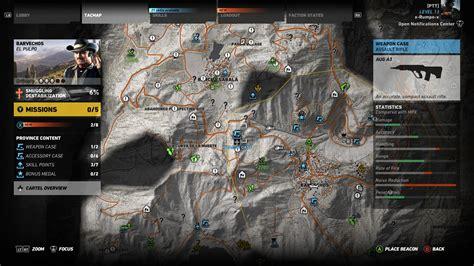 Ghost Recon Wildlands Assault Rifles Location