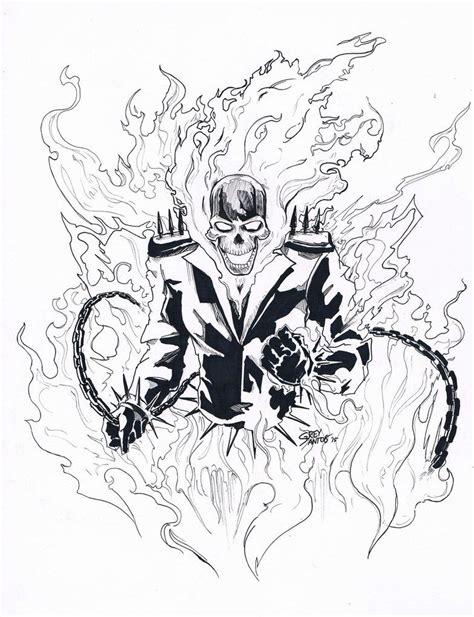 Ghost Rider Malvorlagen