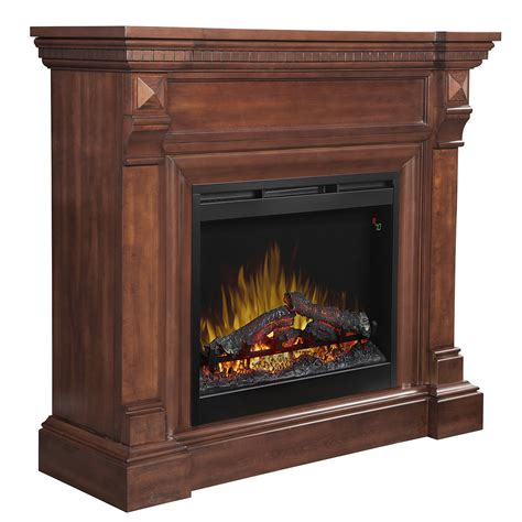Gilbertson Wood Mantel Electric Fireplace