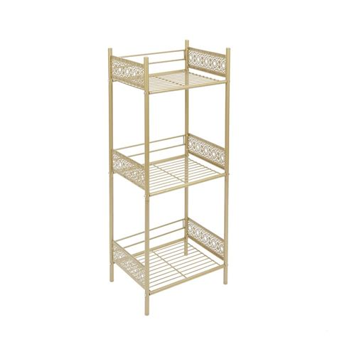 "Gillespie 14.5"" W x 36"" H Bathroom Shelf"