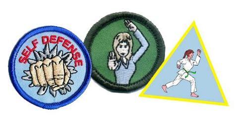 Girl Scout Self Defense Award