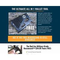 Give away our rescue card and earn recurring commissions! offer