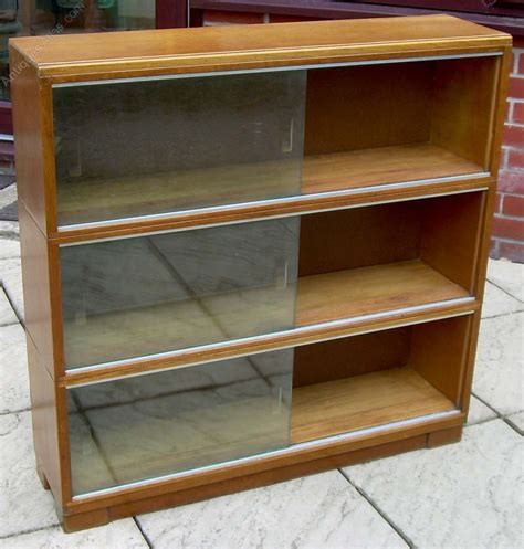 glass front bookcase price Image