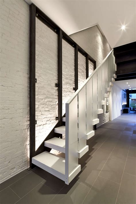 Glass Stairs Design