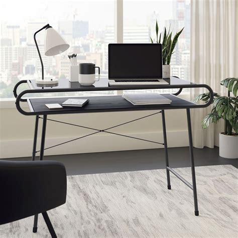 Glass Computer Tables For Home Image