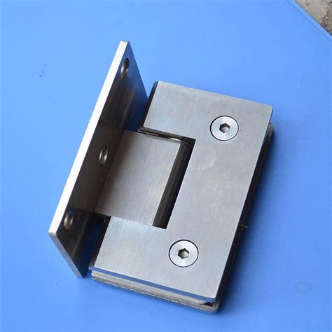 Glass door hardware hinges Image
