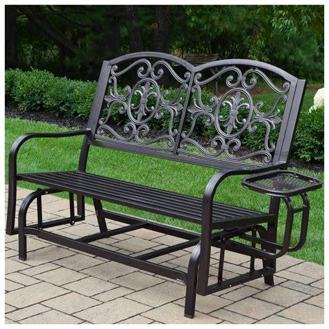 glider outdoor bench.aspx Image