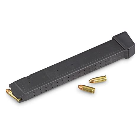 Glock 17 9mm 33 Round Magazine