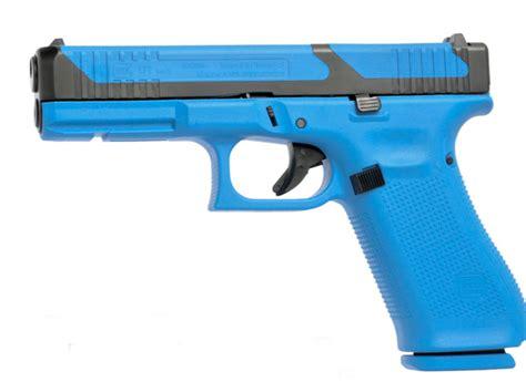 Glock 17 Blue Gun And Tokyo Marui Glock 19