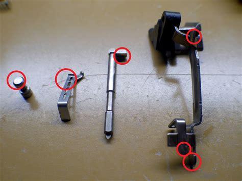 Glock 17 Gen 4 Trigger Polish