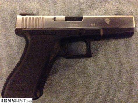 Glock 17 Nickel Slide