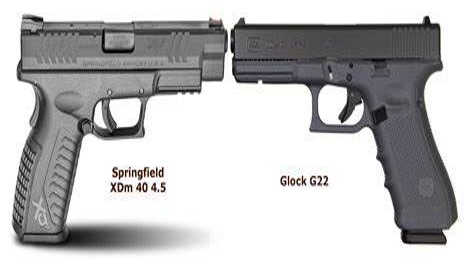 Glock 17 Vs Springfield Xd 45