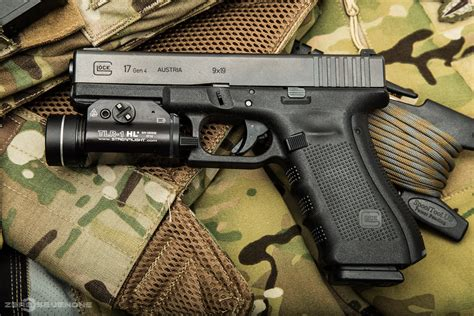Glock 17 With Streamlight Tlr8