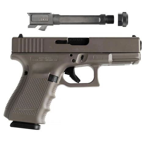 Glock 19 9mm 4th Gen Elite Earth Cerakote