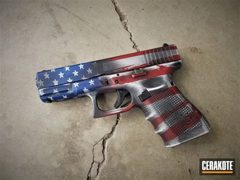 Glock 19 American Flag Wrap