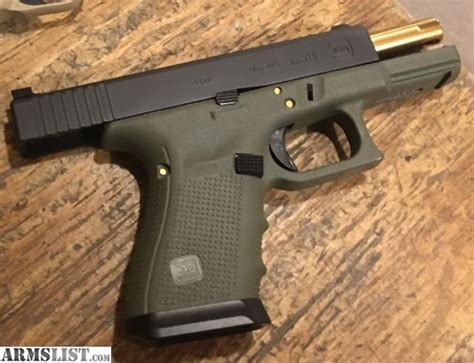 Glock 19 Battlefield Green For Sale