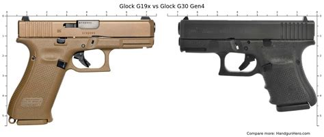 Glock 19 Compared To Glock G30
