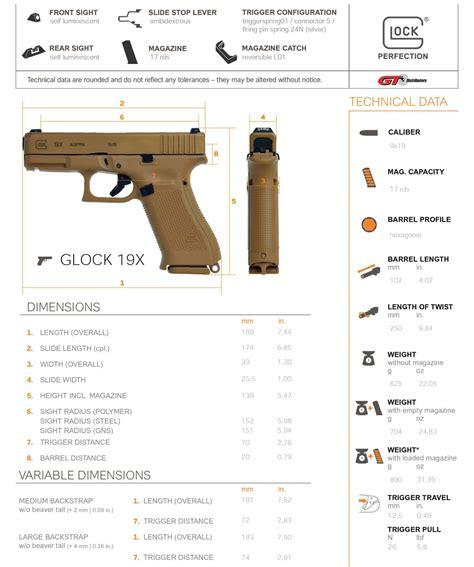 Glock 19 Dimensions