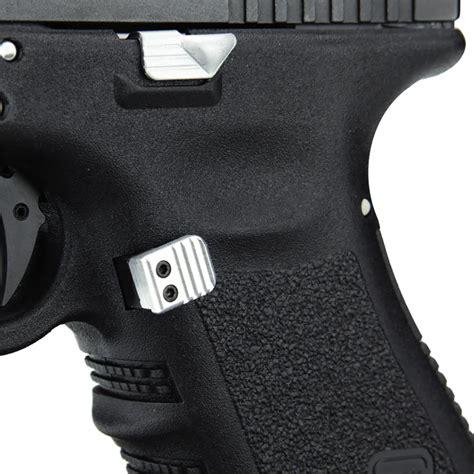 Glock 19 Gen 4 Extended Aluminum Mag Release