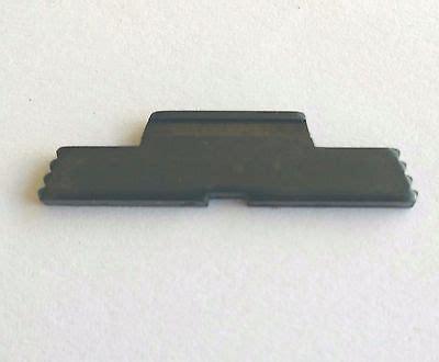 Glock 19 Gen 4 Extended Slide Lock Brass Stackers