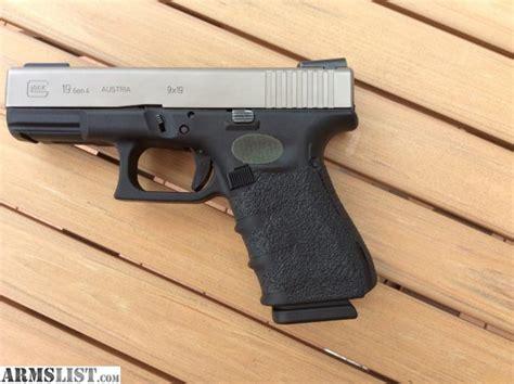 Glock 19 Gen 4 Nickel Boron Slide