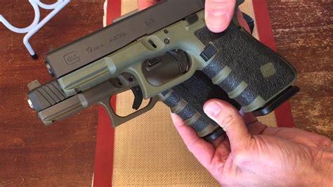 Glock 19 Gen 4 Od Green Vs Battlefield Green
