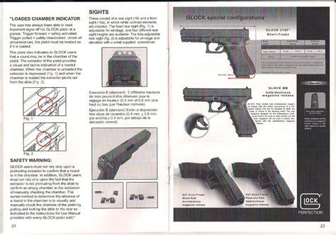 Glock 19 Gen 4 Owners Manual Download
