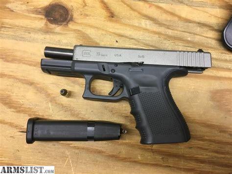 Glock 19 Gen 4 Tungsten Grey
