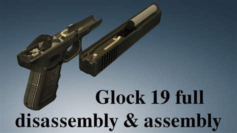 Glock 19 Gen 5 Full Disassembly