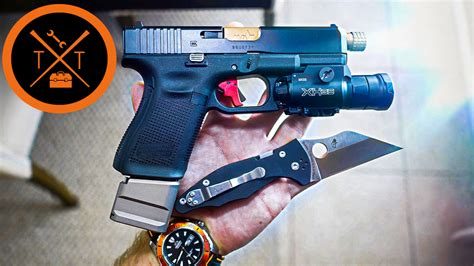 Glock 19 Gen 5 Trigger Reach