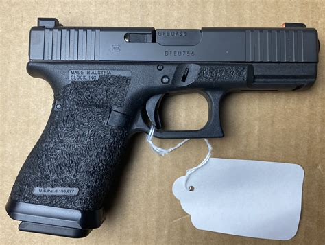 Glock 19 Modified With Stock