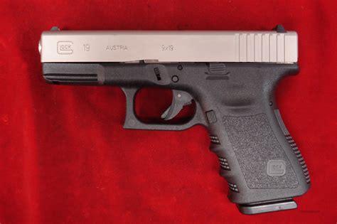Glock 19 Nickel Slide