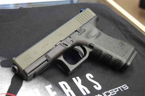 Glock 19 Olive Drab