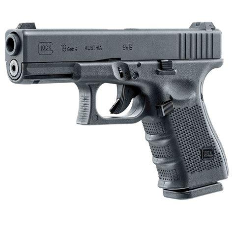 Glock 19 Pellet Pistol And Glock 21 Gen 4 Semi Auto Handgun 45 Acp