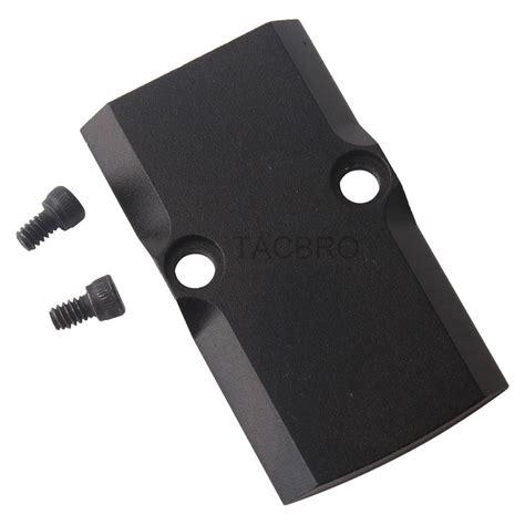 Glock 19 Rmr Fitment Plate
