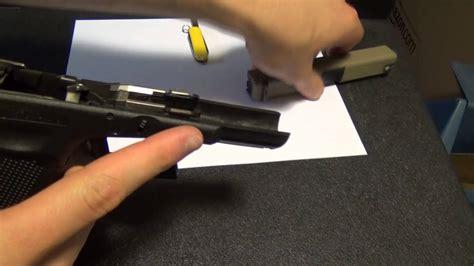 Glock 19 Slide Lock Problems