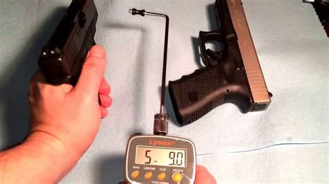 Glock 19 Trigger Pull Weight With Out Magazine
