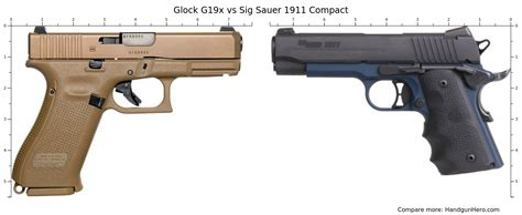 Glock 19 Versus 9 Mm Sig Sauer