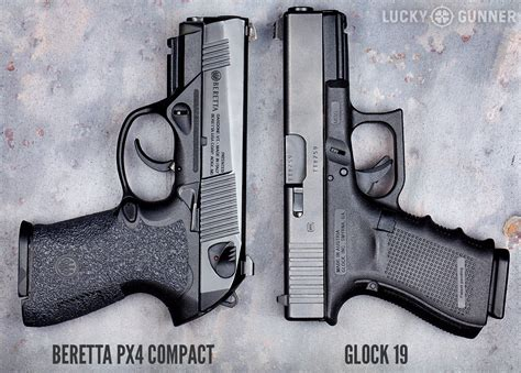 Glock 19 Vs Beretta Px4 Storm Compact