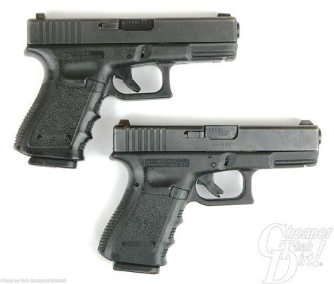 Glock 19 Vs Glock 23 Size Comparison