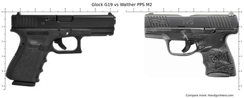Glock 19 Vs Walther Pps Size