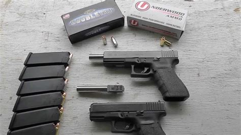 Glock 20 Glock 29 9x25 Dillon Accuracy Velocity Lone Wolf Barrel Underwood Doubletap