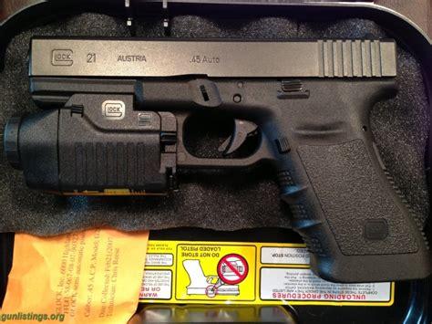 Glock 21 Tactical Light