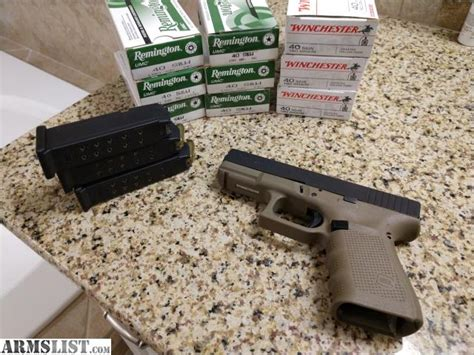 Glock 23 Ammo Recommendations