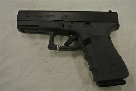 Glock 23 Gen 4 40 S W With Fixed Sights 3 Magazines