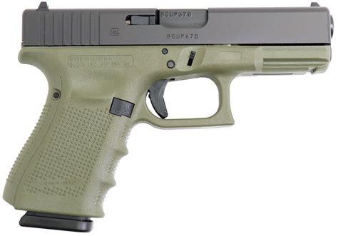 Glock 23 Gen 4 Battlefield Green