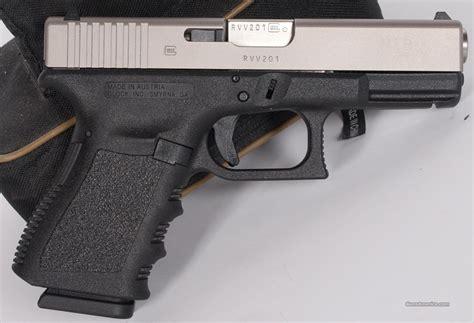 Glock 23 Nibx Nickelboron Finish