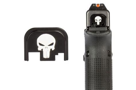 Glock 23 Punisher Back Plate