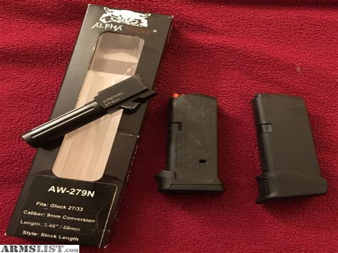 Glock 27 9mm Conversion Kit